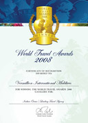 World Travel Awards 2008 - Indian Oceans Leading Travel Agency