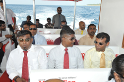 Grand Openning with President Mohamed Nasheed