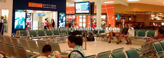 Maldives Airport Information - Floor Plan