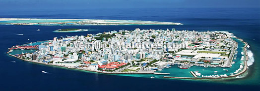 Maldives Male' The Capital