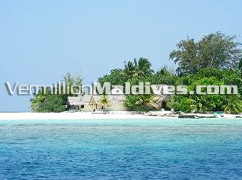 Bathala Island Resort Hotel Maldives closer view