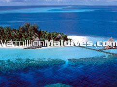 Beautiful Maldives Hotel Rannalhi with a nice House Reef