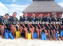 Divers visit Maldives for their Diving holiday