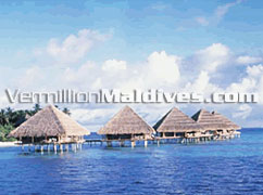 Water Bungalows at Adaaran Club Rannalhi Beach Resort Maldives