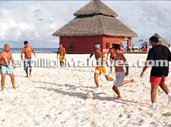 White Sandy Beaches of Maldives. Visit Maldives.