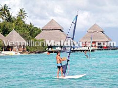 Windsurfing the beautiful Lagoon : Reserve a tour
