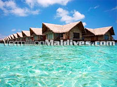 Beautiful Lagoon and Ocean facing : the Prestige Villas Adaaran