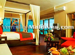 Beautiful Villa accommodation. Prestige Maldives Ocean Hotel