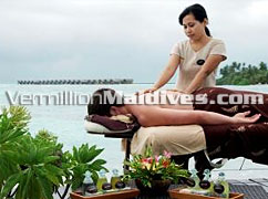 Spa / Massage facilities at hotel Adaaran Ocean Villas Hudhuranfushi