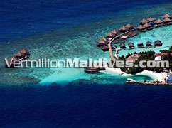 Aerial Photo Adaaran Resorts Maldives Vadoo