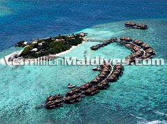 "Aerial Photo Image ""ADAARAN"" Prestige Water VADOO Maldives"