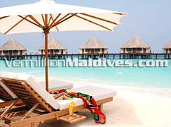 Exotic Maldives Island Resort. Water Villas Meedhupparu