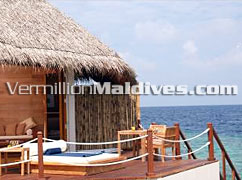 Private Deck and Day Bed: Feel Your self at home in Prestige Water Villas