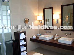 Vacations Bathroom at Adaaran Prestige Water Villas Maldives