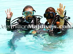 Dive & snorkel around Hudhuran fushi Maldives