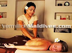 Hudhuranfush Maldives Resort hotel Spa / Massage