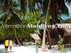 Inside Island. Hudhuran-fushi Maldives.. tour around