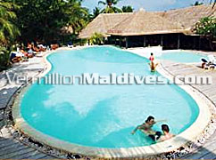 Swimming Pool for your Hudhuranfushi Holiday
