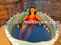 Adaaran Select Meedhupparu Maldives. Spa vacations