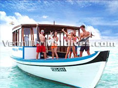 Fishing Tours at Maldives Adaaran Select Meedhupparu