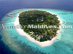Picture of the Beautiful Island. Adaaran Select Meedhupparu Maldives