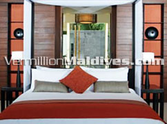 Bedrooms of Alila Villas - Island Villas of Hadahaa Resort Hotel