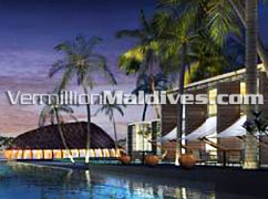 Pool of Alila Villas Hadahaa – Five star Luxury Resort in Maldives