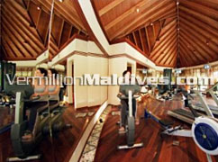 Anantara Dhigu Maldive Gym. It can be your family resorts Hotel