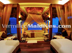 Anantara Dhigu Maldives Treatment Room. For your Spa vacation Holiday