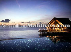 Fuddan Grill Restaurant. Anantara Dhigu Beach and Spa Resort Maldives.