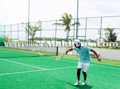 Tennis & other. Anantara Dhigu Maldives. Travels & Tour around