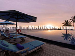 Private Pool in all your Villas in Anantara Kihava Maldives
