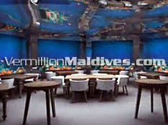Under Water Restaurant in Anantara Kihava Villas Maldives – Honeymoon Retreat