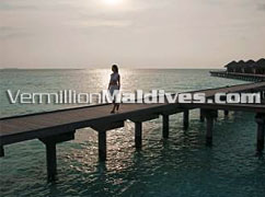 Beautiful View from Jetty – Anantara Veli Resort Maldives