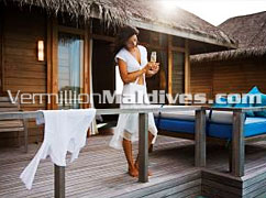 Low rates for these Deluxe Over Water Bungalows