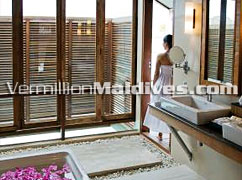 Over Water Bungalow Bathroom – Anantara Veli Maldives