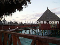 Anagaga. Water Bungalows. Simple luxury Resort