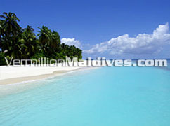 Angaga Maldives.  Beautiful Beach and clear lagoons