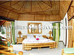 Superior Room accommodation at Angaga Maldives