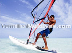 Angsana Ihuru Maldives Windsurfing & many activities
