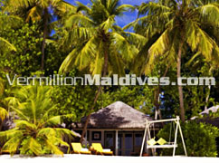 Beachfront Villa at Angsana Ihuru : Special deals available