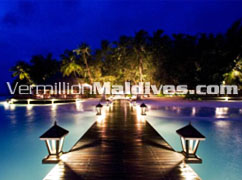 Beatiful View of Angsana Ihuru Maldives. A Dream