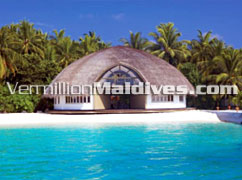Gallery at Angsana Velavaru Maldives. 5 star Luxury hotel