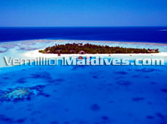 Picture of the island Angsana Velavaru Hotel Maldives