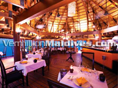 Funa Restaurant Angsana Velavaru.In Oean Villa guests have access to All Restaurants