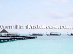 Arriving to the jetty – Athuruga Maldives Holidays