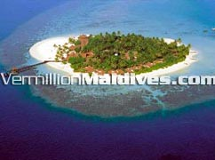 Aerial Picture Image of Athuruga Island Resort Maldives