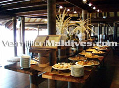Breakfast at Restaurant – Athuruga Island Maldives
