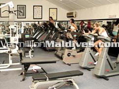 Stay active during your Maldives Holiday. Bandos Island Gym