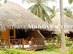 Bandos Island Resort Hotel's garden villa accommodation